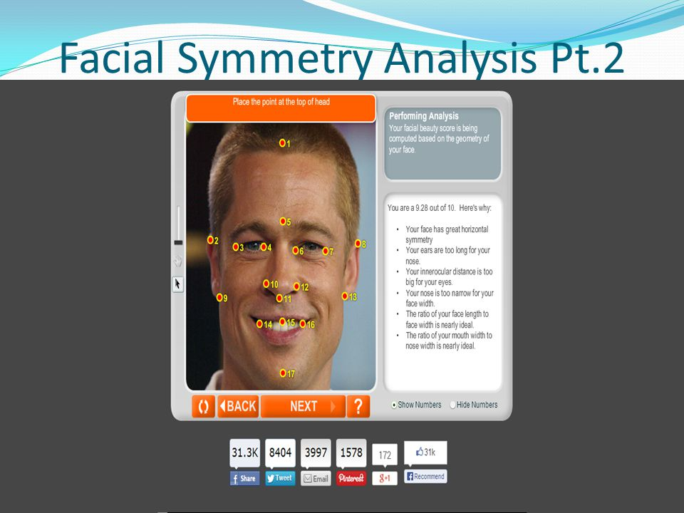 Facial Symmetry Analysis Pt.2