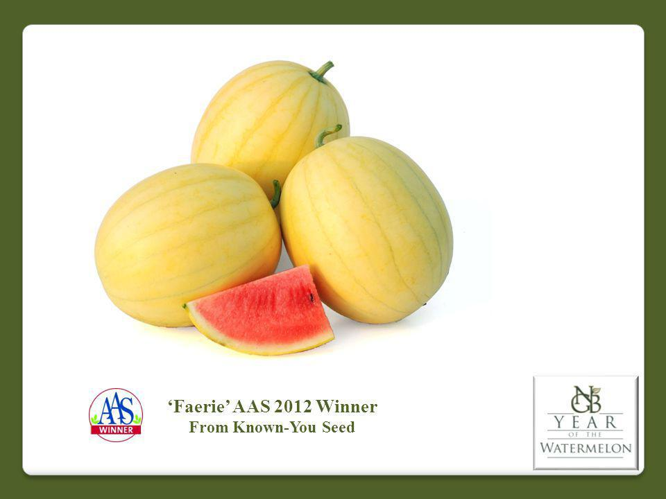 Faerie AAS 2012 Winner From Known-You Seed