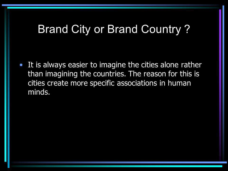 Brand City or Brand Country .
