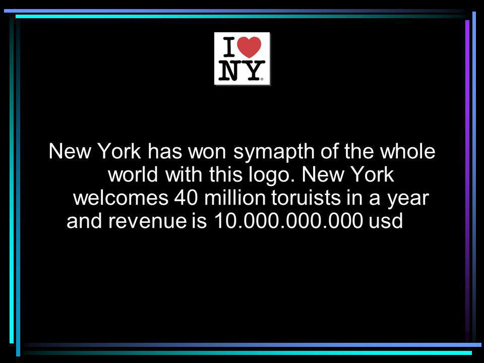 New York has won symapth of the whole world with this logo.