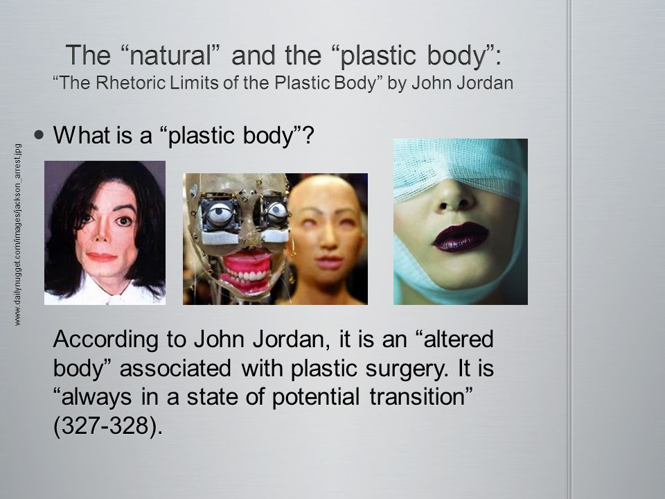 What is a plastic body. What is a plastic body.