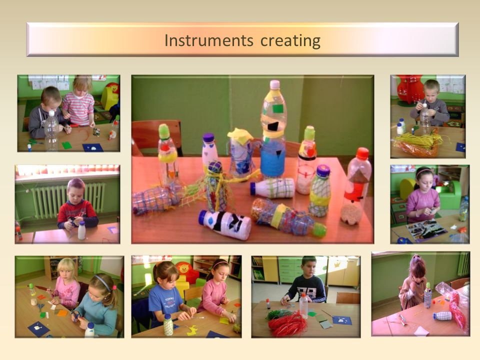 Instruments creating