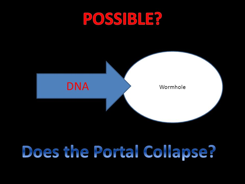 Wormhole DNA