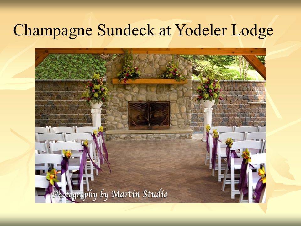 Champagne Sundeck at Yodeler Lodge