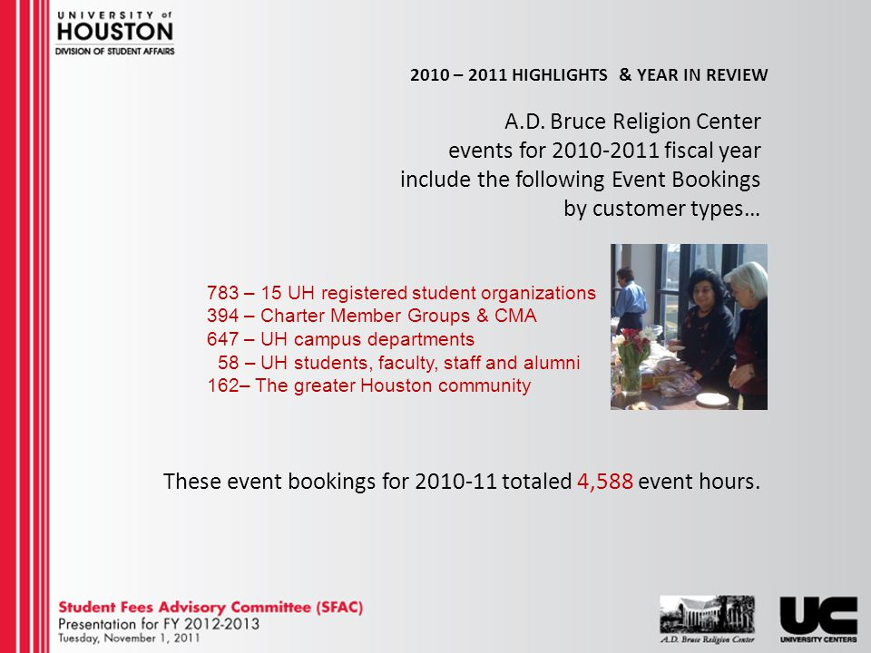 2010 – 2011 HIGHLIGHTS & YEAR IN REVIEW A.D.