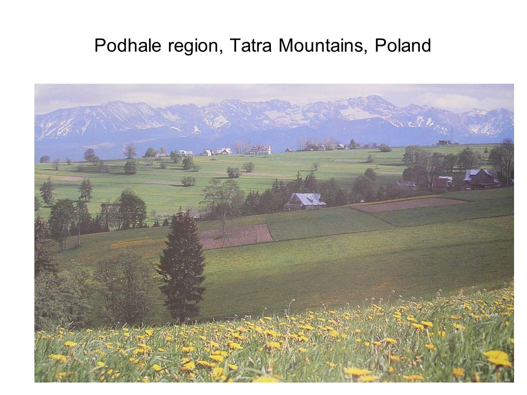 Podhale region, Tatra Mountains, Poland