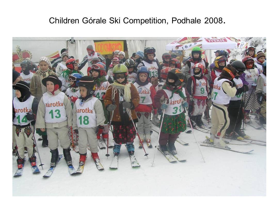 Children Górale Ski Competition, Podhale 2008.