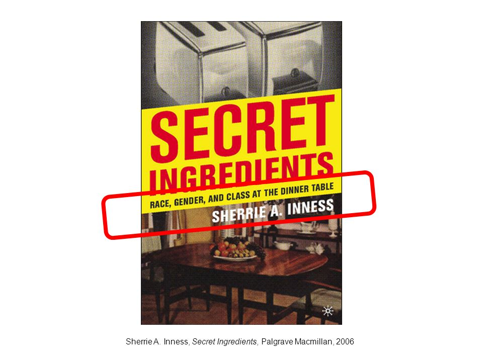 Sherrie A. Inness, Secret Ingredients, Palgrave Macmillan, 2006