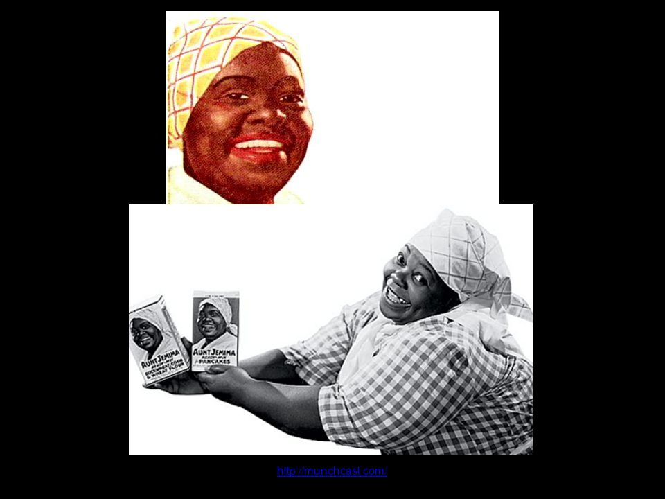 http://munchcast.com/ Nancy Green, the original Aunt Jemima