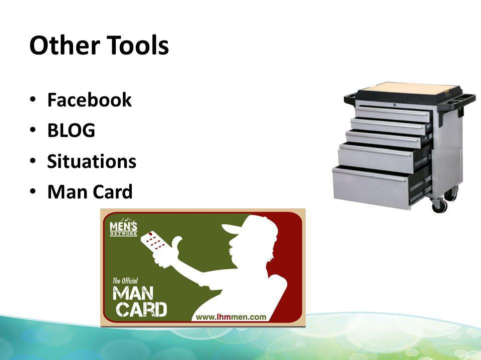 Other Tools Facebook BLOG Situations Man Card