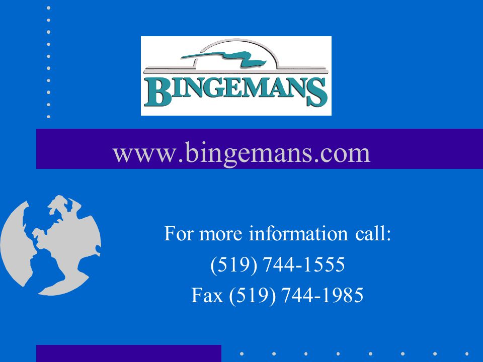 Call us today and make your next event memorable. Make it Bingemans.