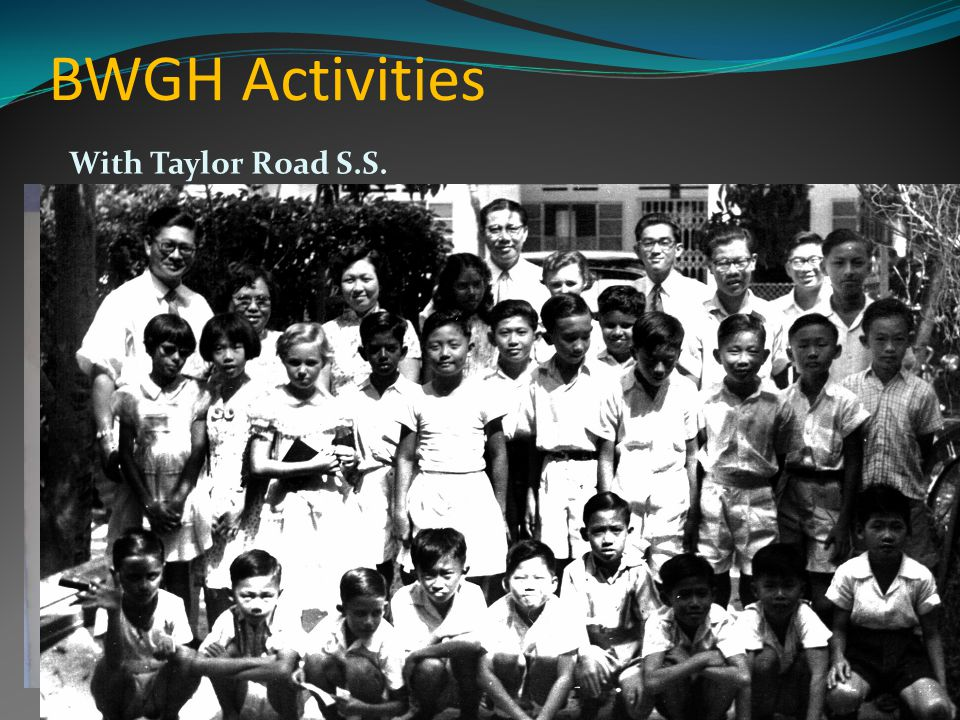 BWGH Activities With Taylor Road S.S.