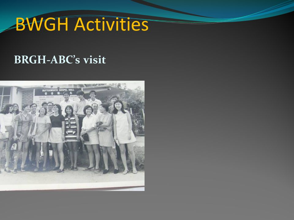 BWGH Activities BRGH-ABCs visit