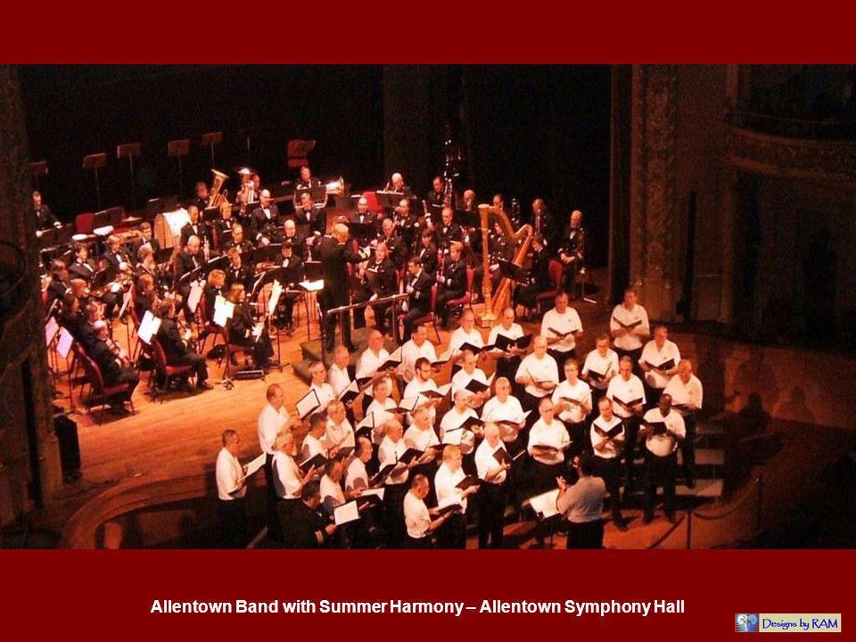 Allentown Band with Summer Harmony – Allentown Symphony Hall