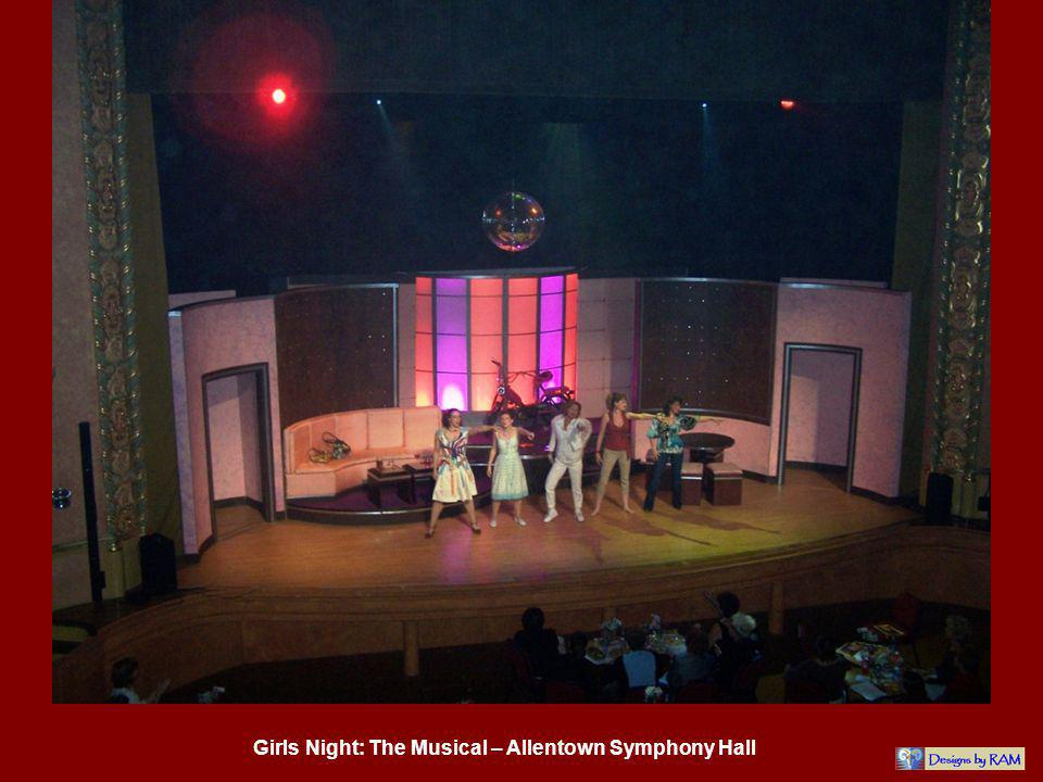 Girls Night: The Musical – Allentown Symphony Hall