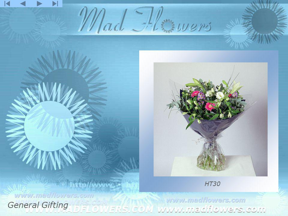 Click to edit Master title style Click to edit Master text styles –Second level Third level –Fourth level »Fifth level WWW.MADFLOWERS.COM www.madflowers.com WWW.MADFLOWERS.COM www.madflowers.com WWW.MADFLOWERS.COM www.madflowers.com WWW.MADFLOWERS.COM www.madflowers.com WWW.MADFLOWERS.COM www.madflowers.com HT30 General Gifting