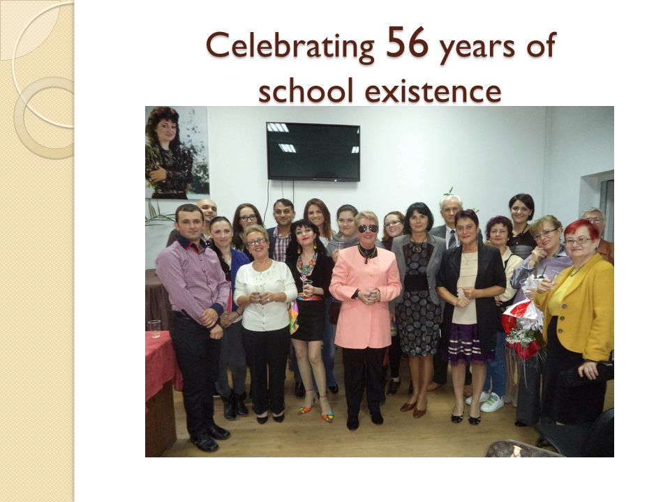 Celebrating 56 years of school existence