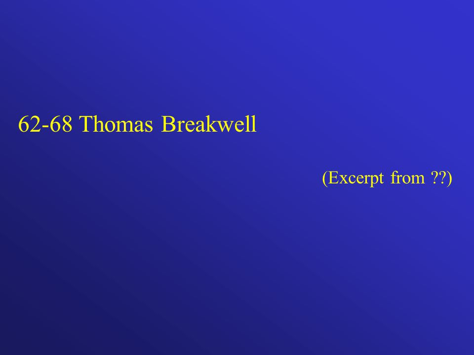 62-68 Thomas Breakwell (Excerpt from )