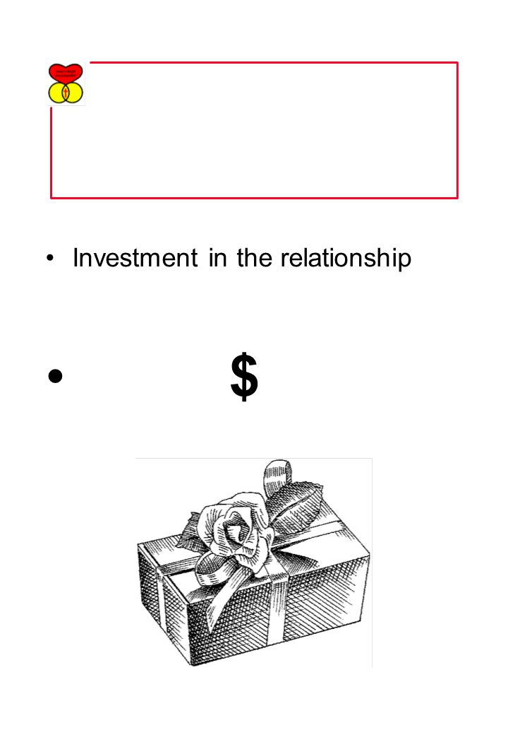 Investment in the relationship $