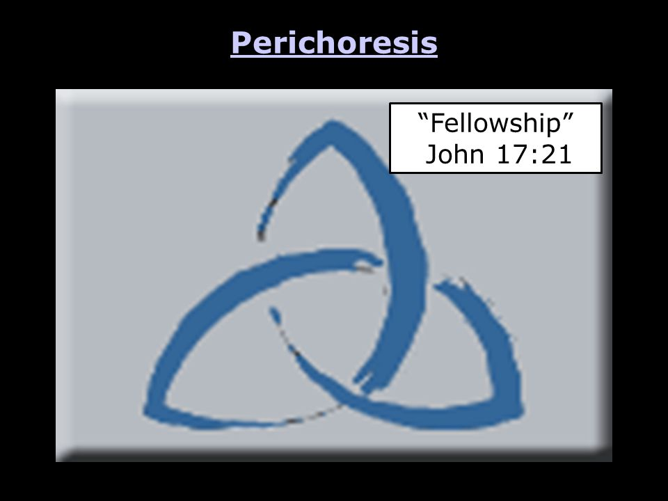 Perichoresis Fellowship John 17:21
