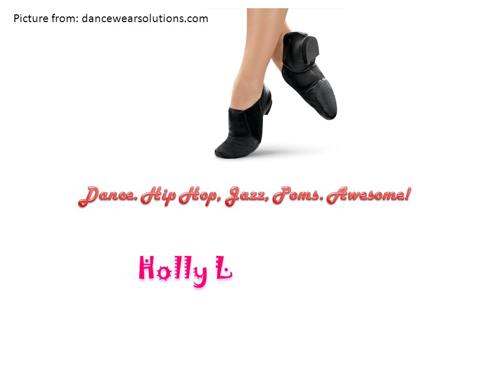 Picture from: dancewearsolutions.com