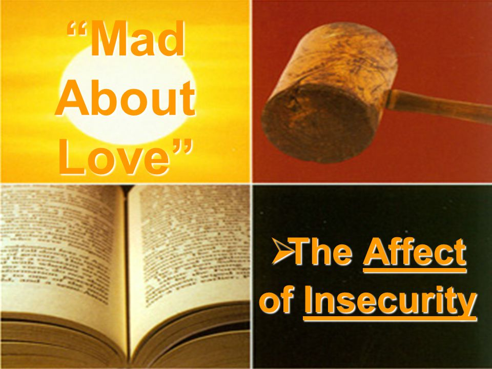 The Affect of Insecurity The Affect of Insecurity Mad About Love