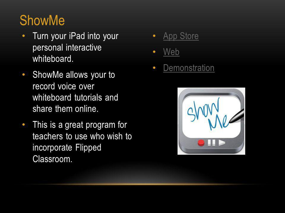 App Store Web Screen Chomp is a simple doodling board that allows users to record it, sketch it and then share it.