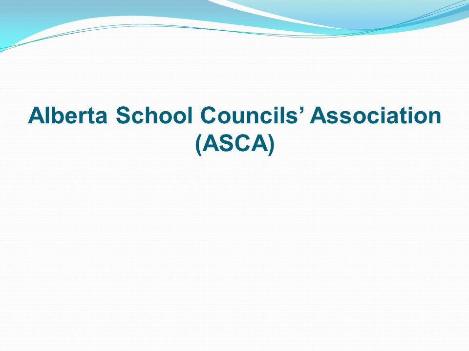 Alberta School Councils Association (ASCA)