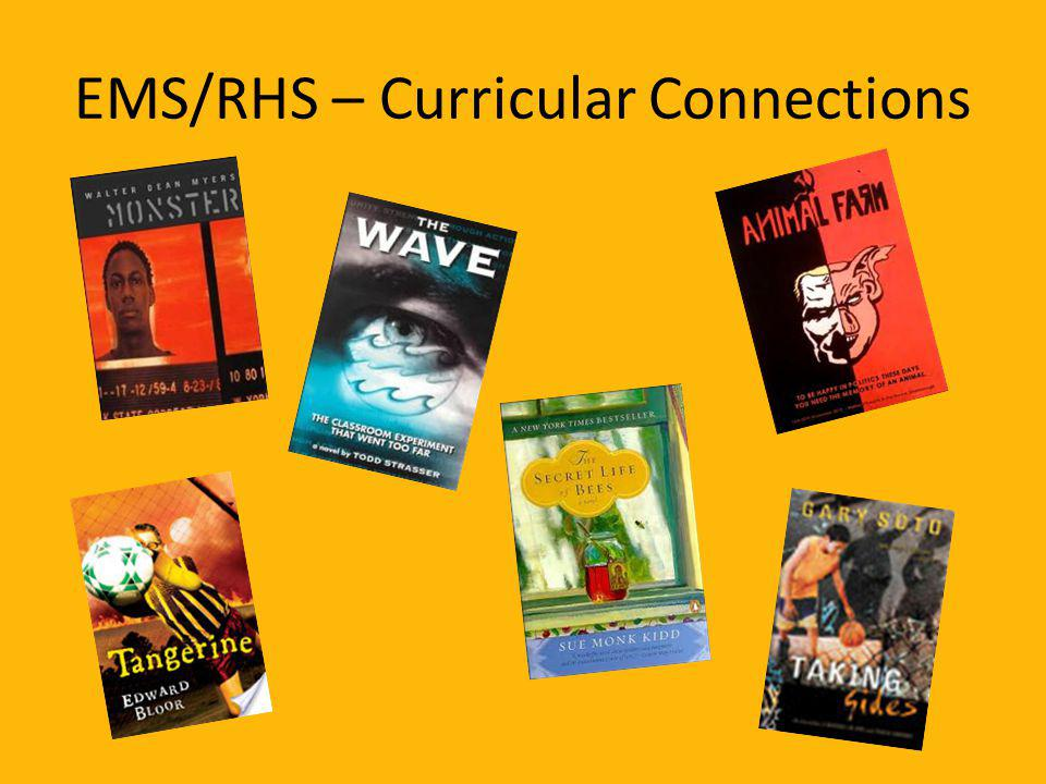 EMS/RHS – Curricular Connections