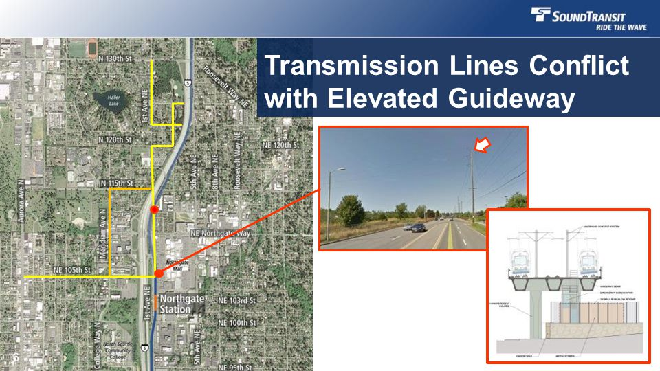 Transmission Lines Conflict with Elevated Guideway 6