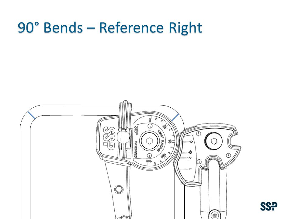 90° Bends – Reference Right