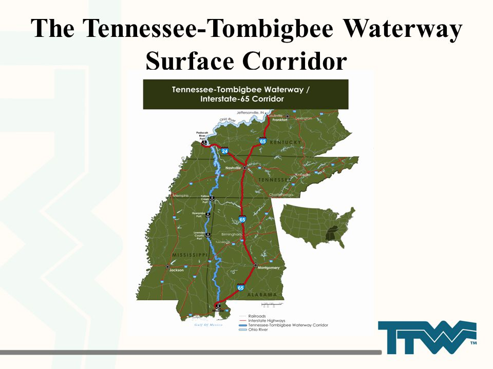 The Tennessee-Tombigbee Waterway Surface Corridor