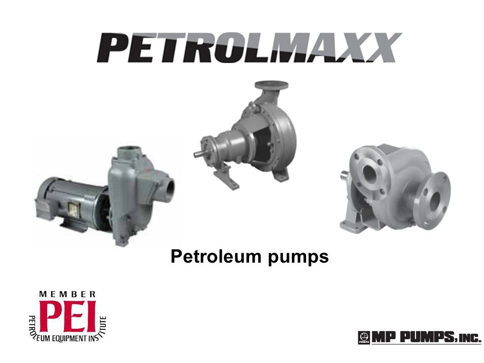 Petroleum pumps