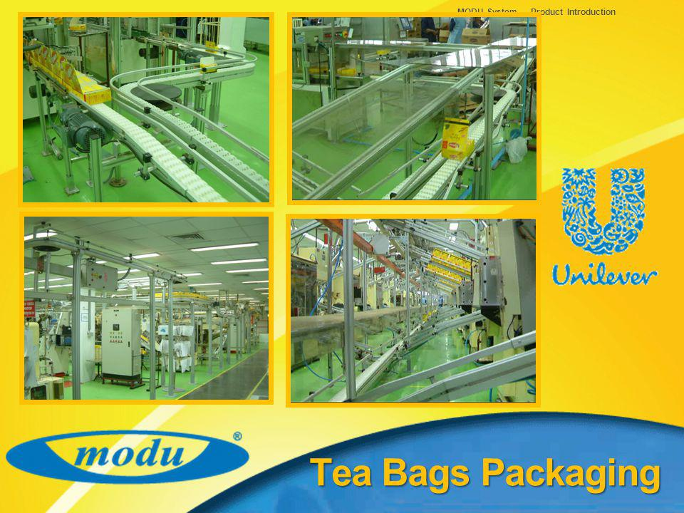 MODU System – Product Introduction Tea Bags Packaging