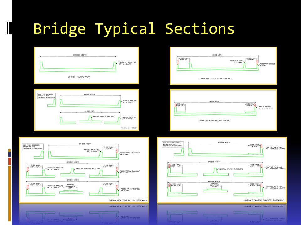 Bridge Typical Sections