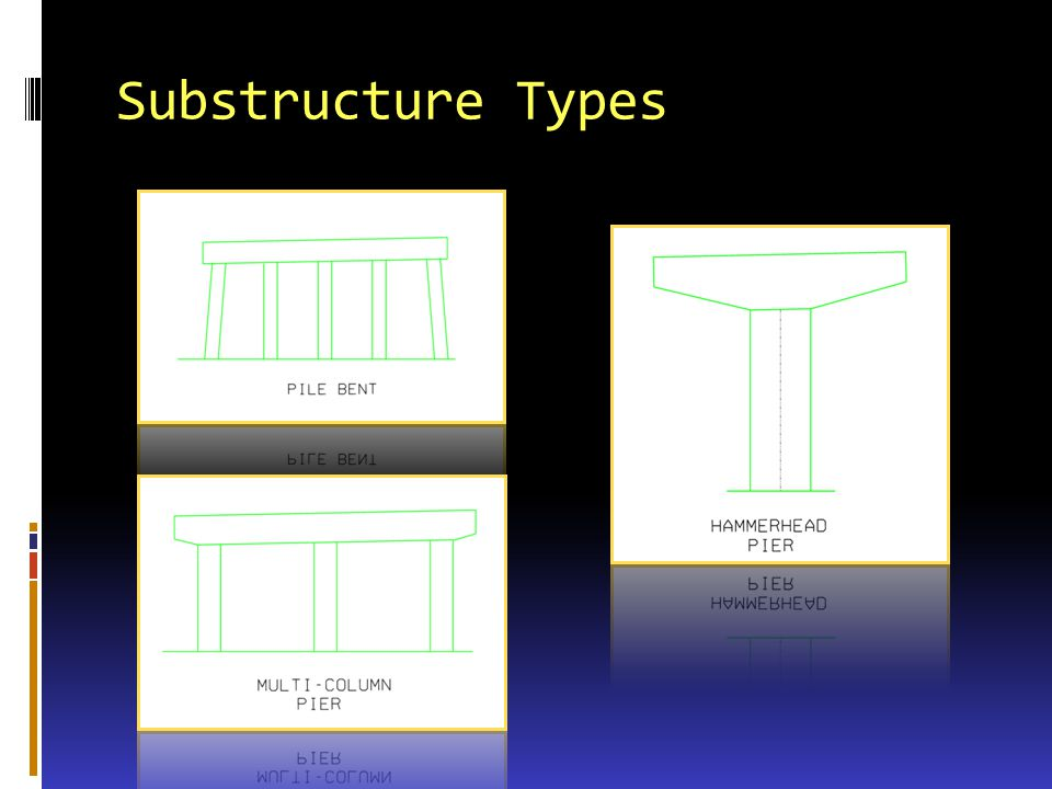 Substructure Types