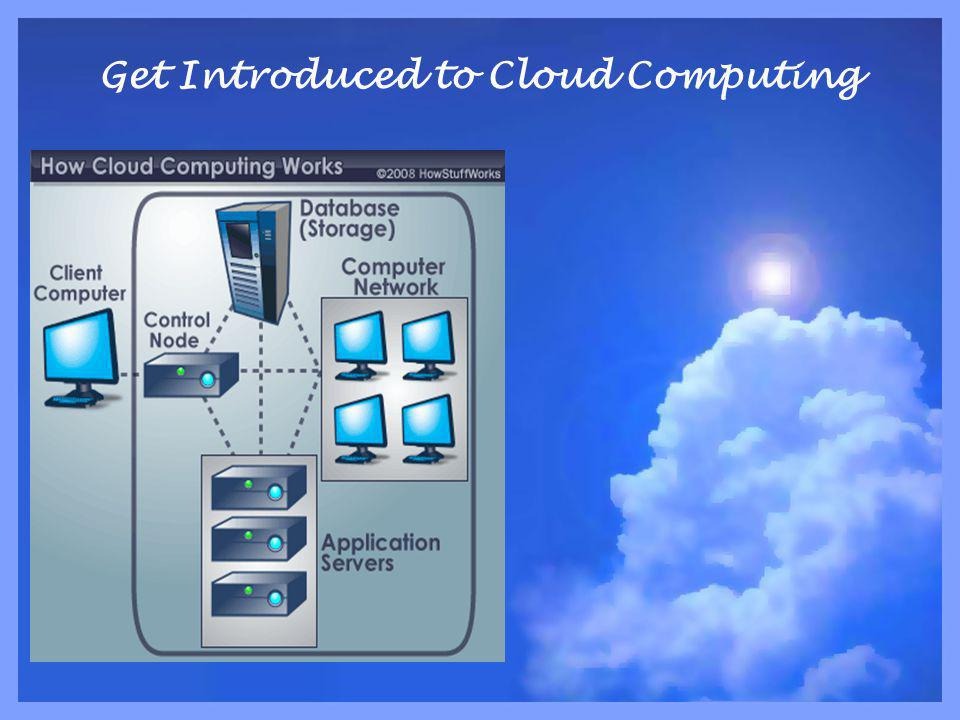 Get Introduced to Cloud Computing