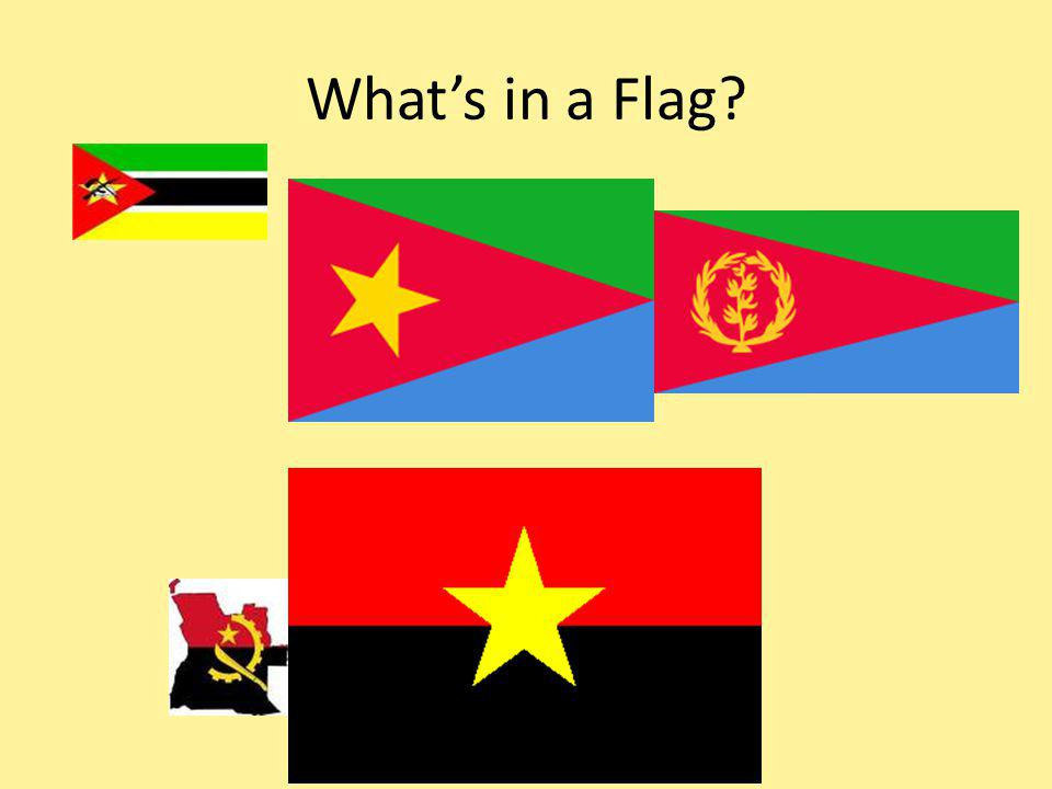 Whats in a Flag