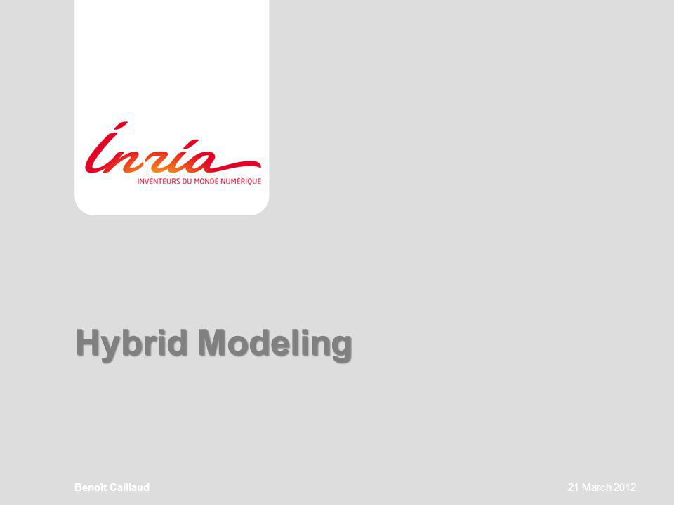 Hybrid Modeling Benoît Caillaud21 March 2012