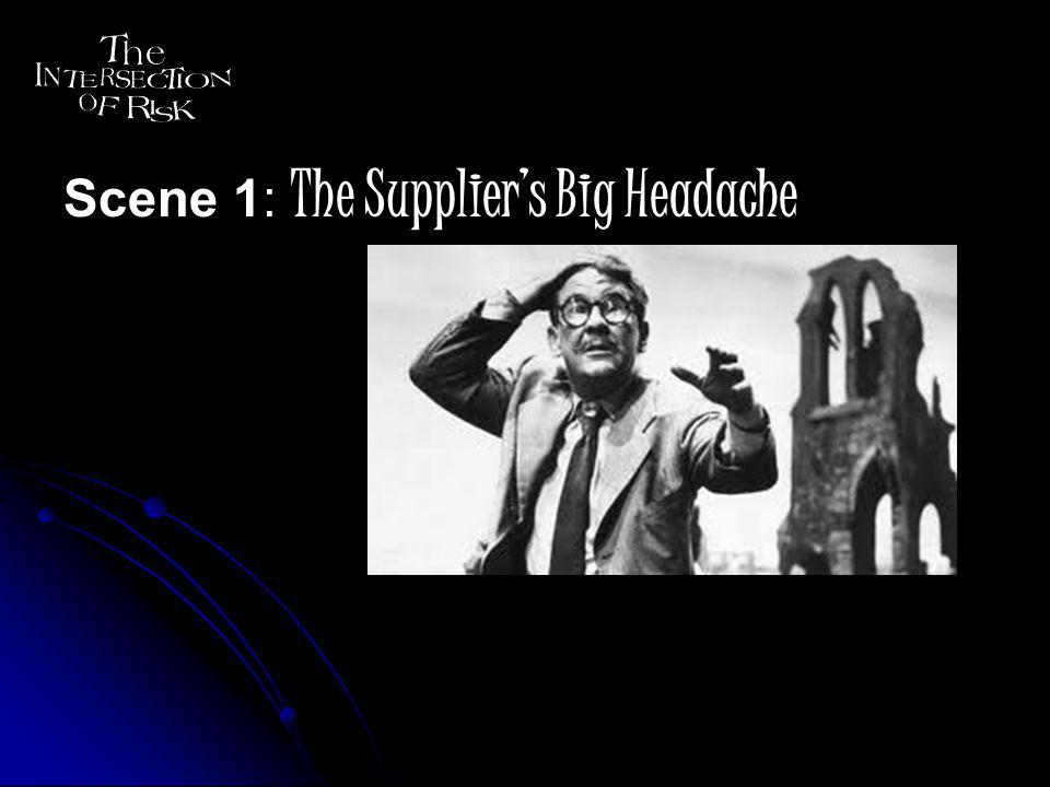 Scene 1: The Suppliers Big Headache Scene 2: The Brands Big Risk Scene 3: A New Dimension of Possibilities