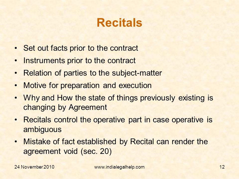 Preparing Contract Document Presentation At Legal Development