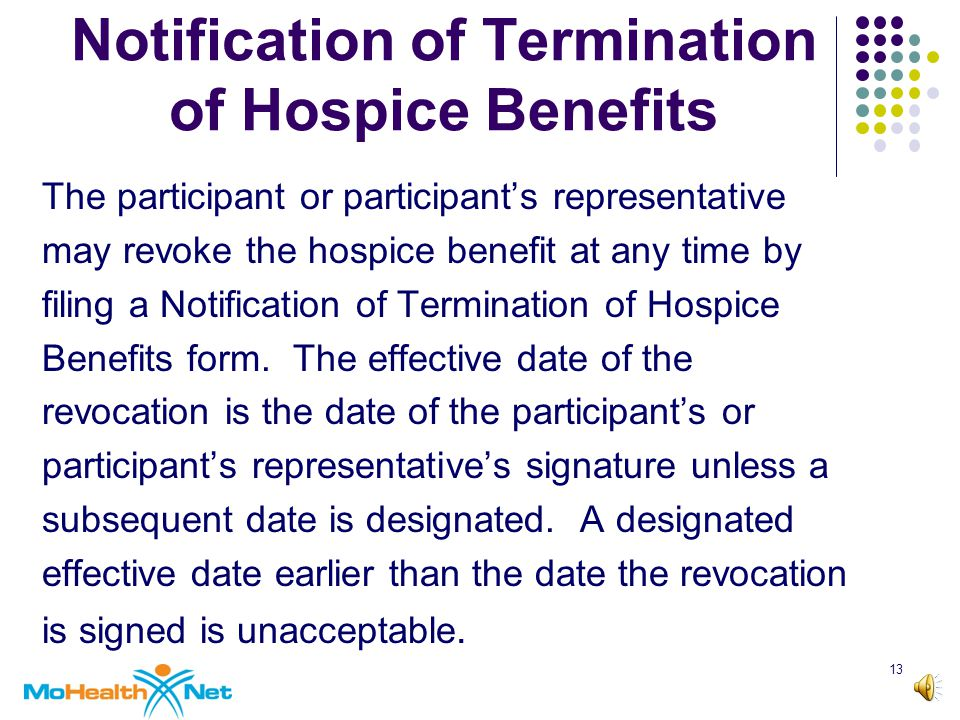 12 Hospice-Nursing Facility Contracts cont.