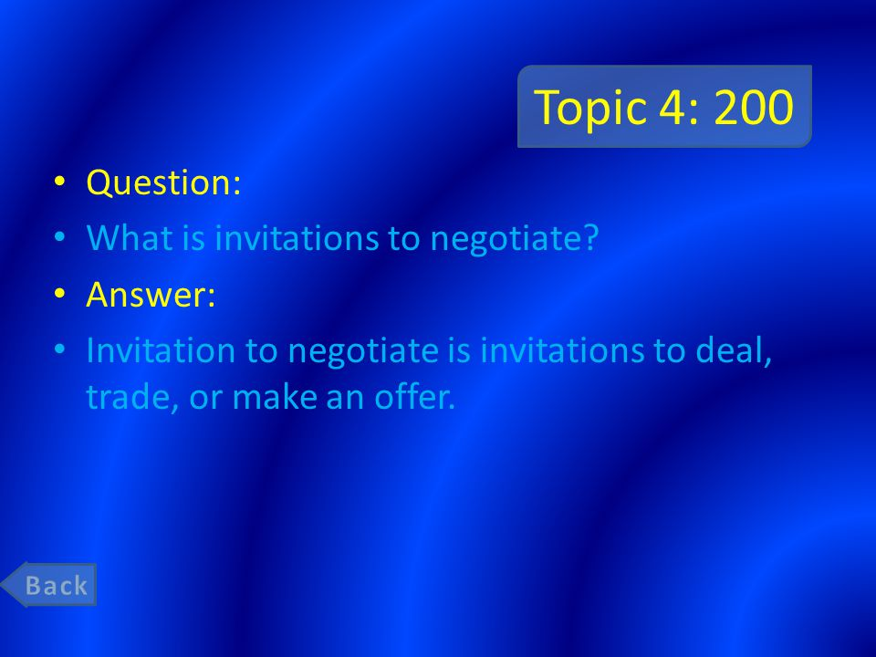 Topic 3: 1000 Question: What is the difference between a unilateral or implied contract.