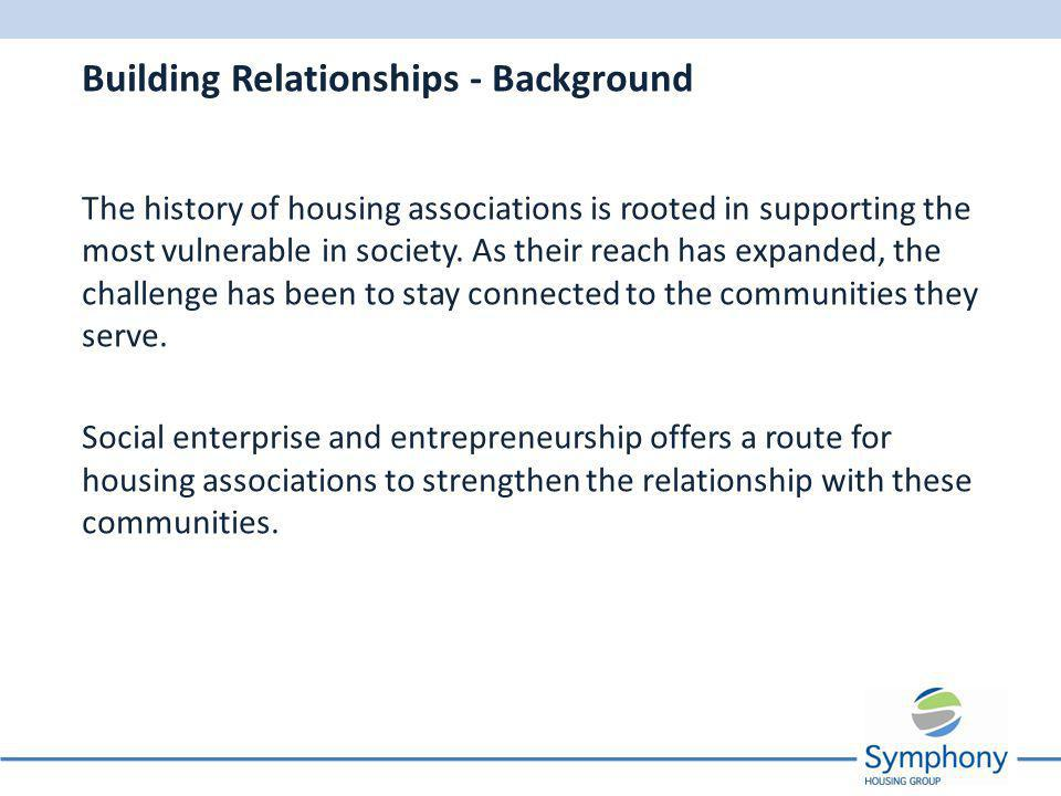 The history of housing associations is rooted in supporting the most vulnerable in society.