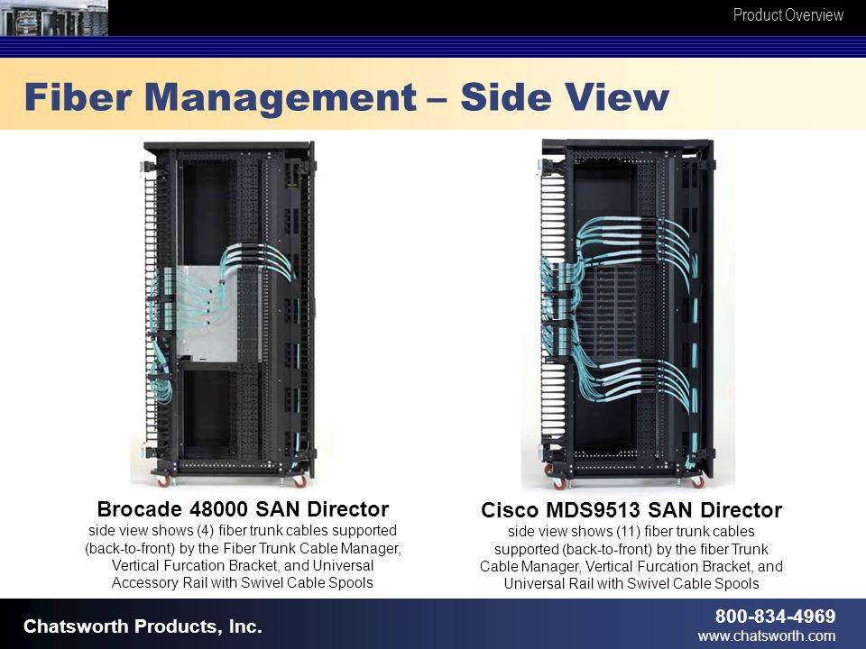 Product Overview 800-834-4969 www.chatsworth.com Chatsworth Products, Inc.