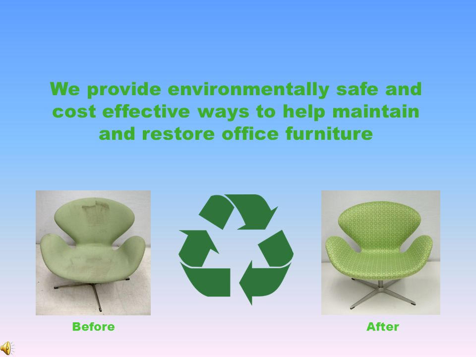 Reupholstery Refinishing Electro-static Spraying Cleaning