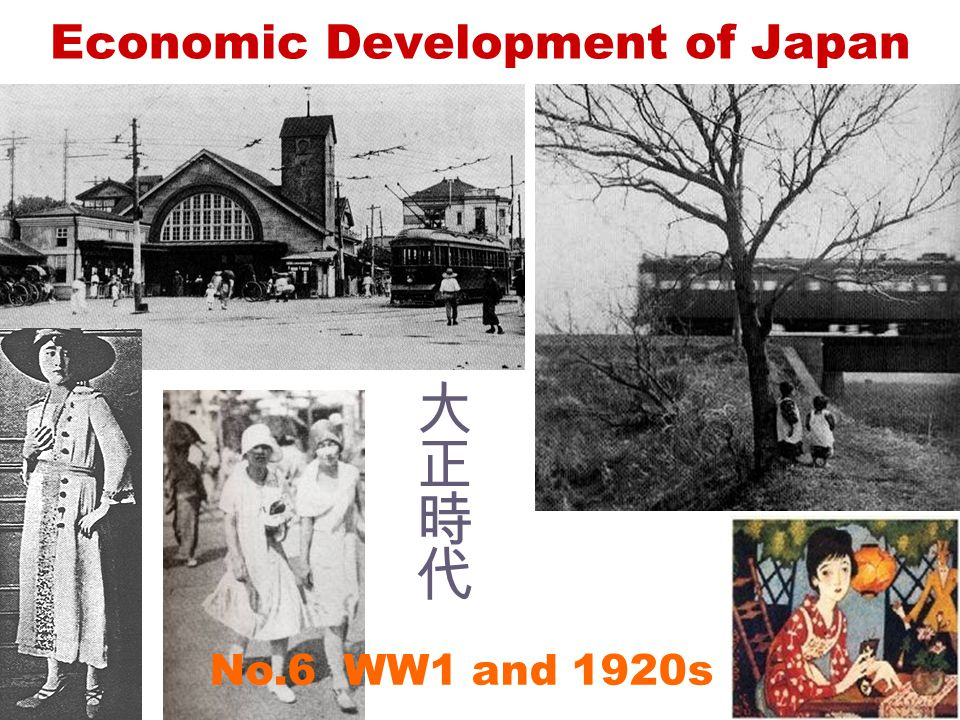 No.6 WW1 and 1920s Economic Development of Japan