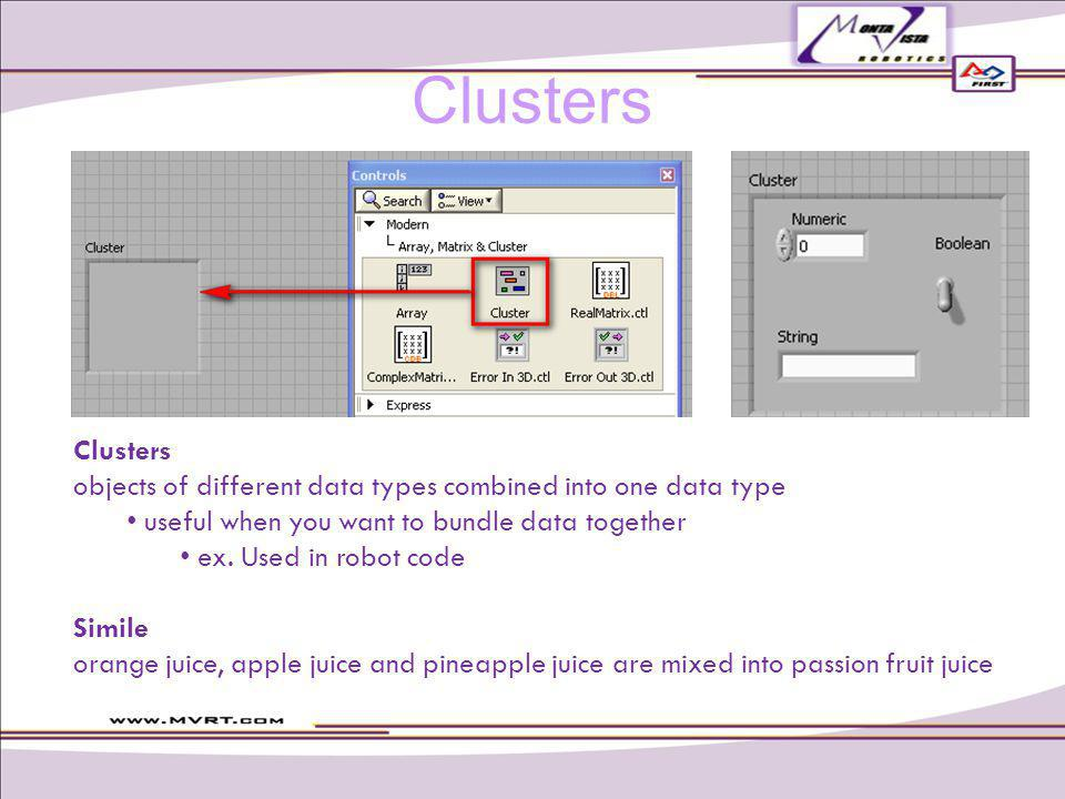 objects of different data types combined into one data type useful when you want to bundle data together ex.