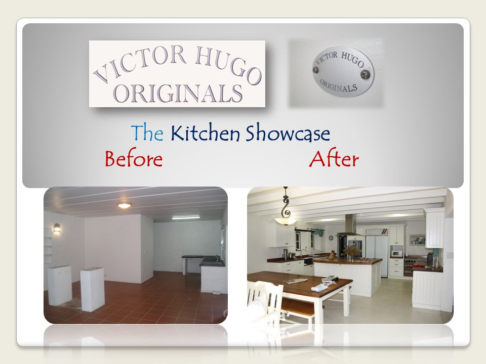The Kitchen Showcase Before After
