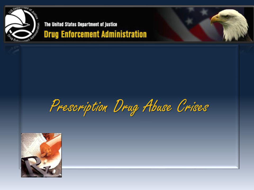 Prescription Drug Abuse Crises